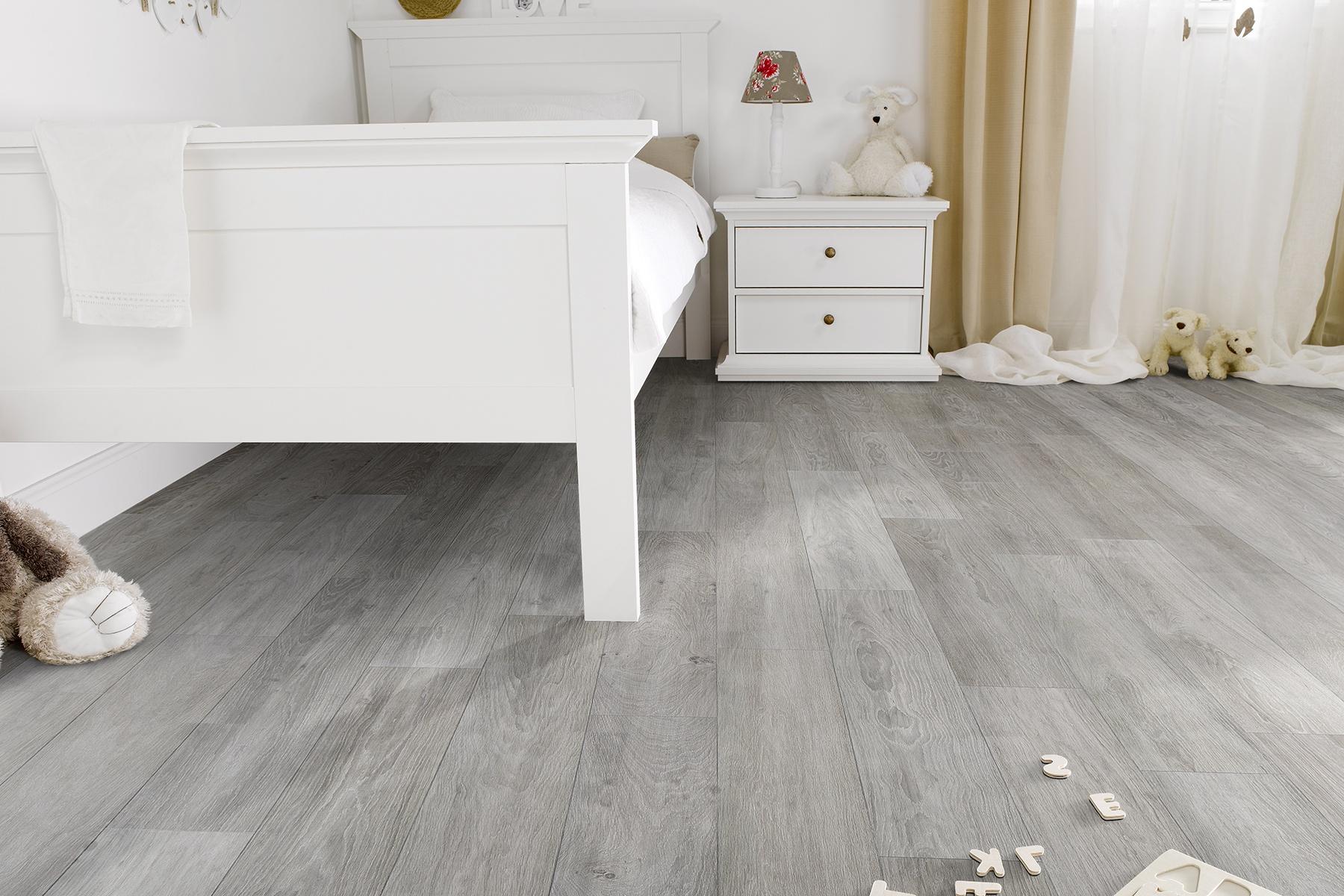 Watervaste laminaatvloer uit kunststof waterbestendige vloer